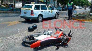 Dos profesoras de educación física sufrieron lesiones en un accidente