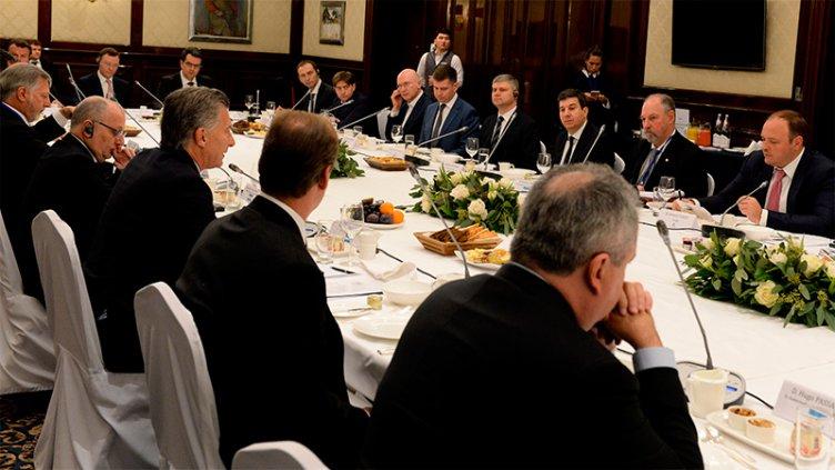 Macri y Bordet en Moscú: Empresas líderes de Rusia invertirían en Entre Ríos