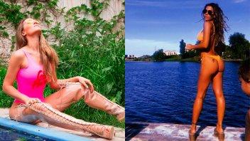 Abdominales de acero: Jimena Barón lució su marcadísima figura