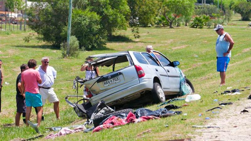 Ocho personas murieron en un accidente de tránsito