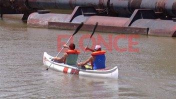 El Paraná Rowing Club recibe al mejor canotaje de la región