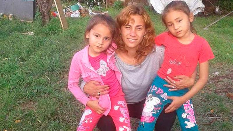 La mujer y sus hijas brutalmente asesinadas.