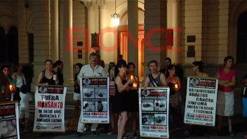 Ambientalistas se manifestaron contra la ley de agrotóxicos