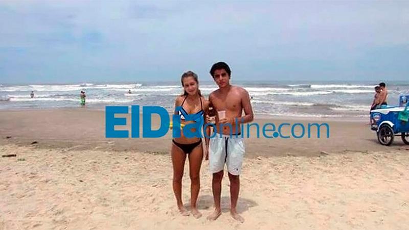 Nahir Galarza y Fernando Pastorizzo de vacaciones en Brasil, en febrero del 2016