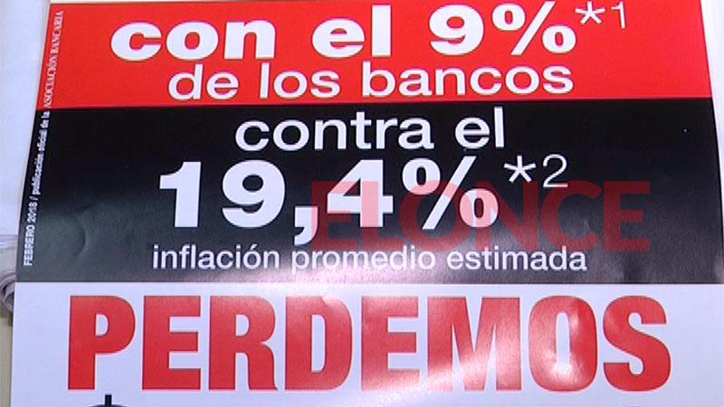 Comenzó el paro nacional bancario en rechazo a la oferta salarial