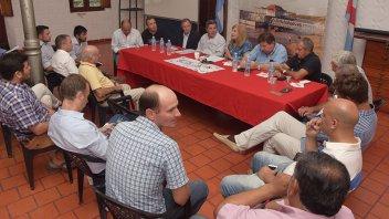 Impulsan el fortalecimiento de la microrregión de la costa del Paraná
