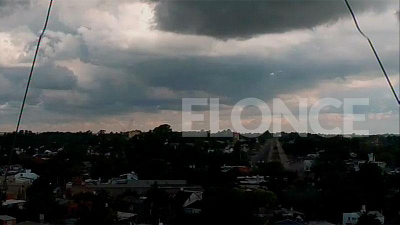 Esperan fuertes lluvias en la mayor parte del país