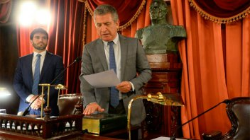 Urribarri será presidente de la Cámara de Diputados por cuarta vez consecutiva