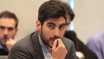 Facundo Moyano acusó