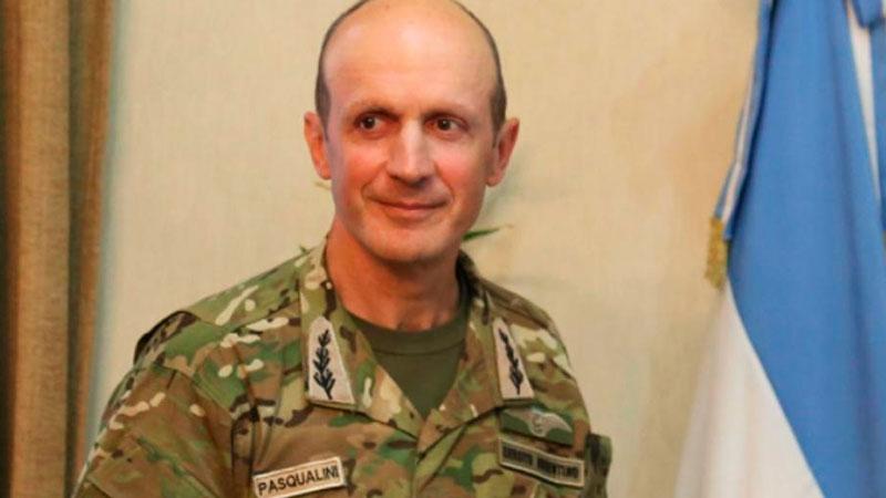Claudio Pasqualini será el nuevo Jefe del Ejército