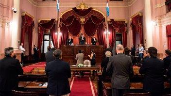 La Cámara de Senadores provincial designó sus nuevas autoridades