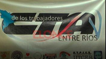 LA CTA Entre Ríos se sumará a la movilización nacional del 21 de febrero