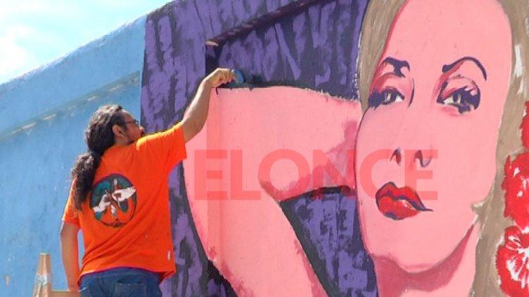 El homenaje que no fue: El mural de Isabel Sarli que fue reemplazado por peces