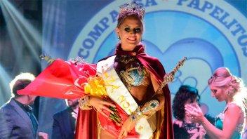Florencia Jurado es la nueva Reina 2018 del Carnaval del País