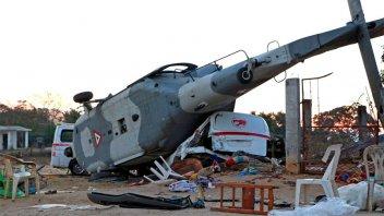 México: 13 muertos al caer helicóptero que sobrevolaba zonas afectadas por sismo