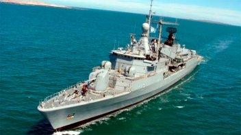Retiraron a uno de los buques que buscaba al ARA San Juan