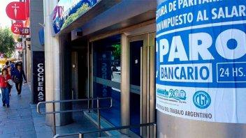 Bancarios realizarán asambleas la próxima semana y luego harán paro