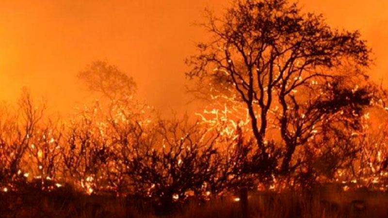 Tres incendios en el oeste