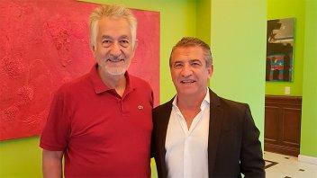 Urribarri se reunió con Rodríguez Saá e impulsan la consigna