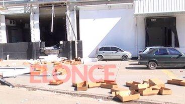 Explosión en frigorífico: Evolucionan los heridos y dos siguen en terapia