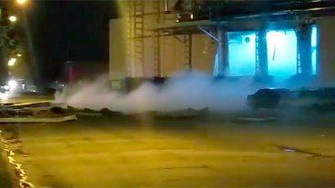 Explosión en Crespo y el peligro en el aire: