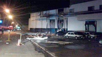 Explosión y escape de amoníaco en frigorífico: Hay tres personas en terapia