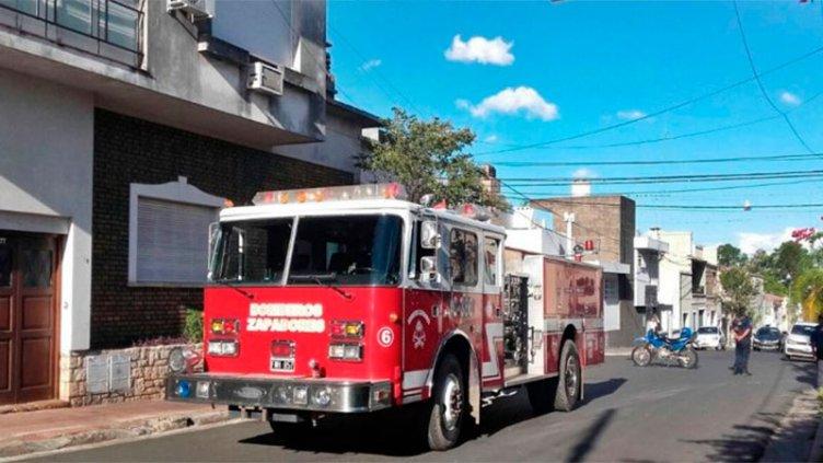 Fuga de gas en un edificio en construcción alarmó a vecinos de Concordia