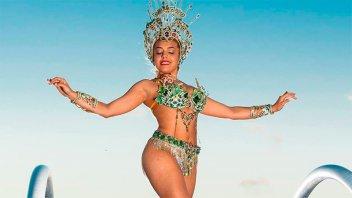 Iba en un micro cuando se enteró que era la nueva Reina del Carnaval
