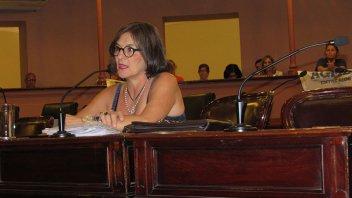 Se realizó la audiencia pública de la vocal gremial del CGE, Perla Florentín