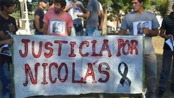 Reclamaron justicia por el crimen de un joven de paraje Las Cuevas