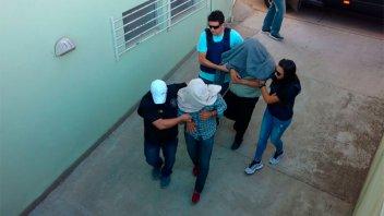Trasladaron a Entre Ríos a miembros de banda que asaltaba familias rurales