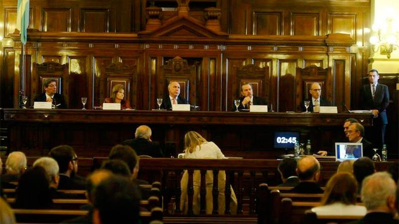 Lorenzetti pidió una reforma judicial