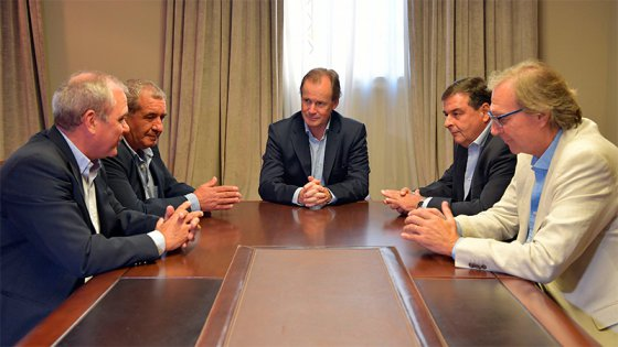 Bordet acordó con empresarios turísticos una millonaria inversión en Colón