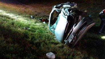 Un nuevo siniestro enluta la Ruta 14: un hombre murió y hay un niño grave