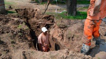 Amplia zona de la ciudad afectada por un corte de agua: Realizan reparación