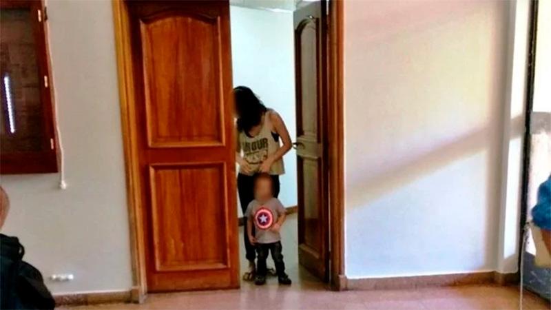 San Juan: quiere entregar a su hijo por no poder mantenerlo