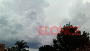 Alerta por lluvias y tormentas intensas para una zona de Entre Ríos