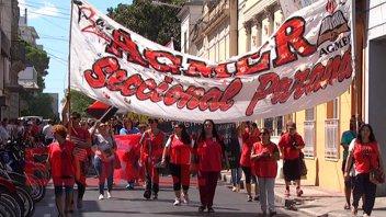 Agmer Paraná realizará asamblea el lunes frente a Casa de Gobierno