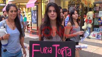 Con una intervención artística, conmemoraron el Día de la Visibilidad Lésbica