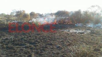 Incendio en La Picada: