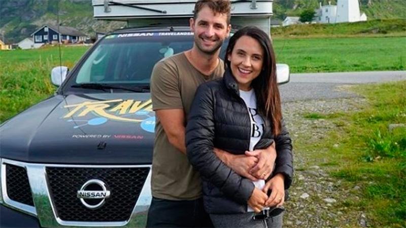 Romulo y Mirella viajan por las rutas del mundo desde 2014.