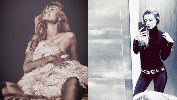 La paranaense Romanela Amato derrocha sensualidad desde Europa