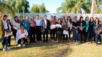 El Intendente Varisco visitó la nueva casa para víctimas de violencia de género