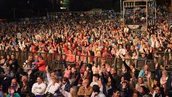 La Fiesta Nacional del Mate, a pura música y con masiva respuesta del público