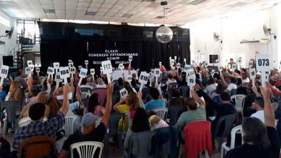 Día clave: Agmer decide si acepta la propuesta salarial del gobierno