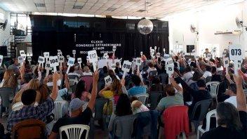 Agmer convocó a Congreso extraordinario para el jueves próximo en Feliciano