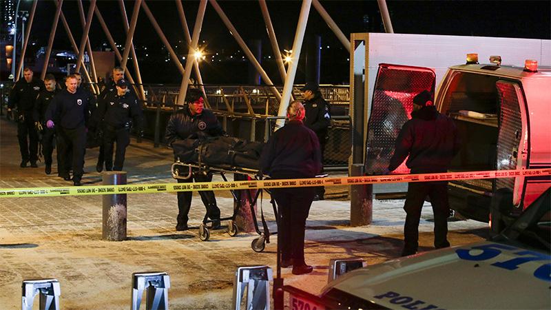 Caída de helicóptero en Nueva York deja dos muertos