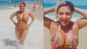 La Bomba Tucumana lució una diminuta bikini para mostrar su