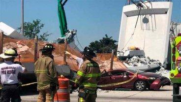 Un ingeniero advirtió las grietas en el puente de Miami antes de que colapsara