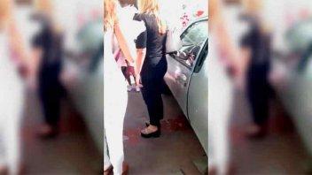 Registran desgarrador llanto de una nena obligada a acatar una decisión judicial